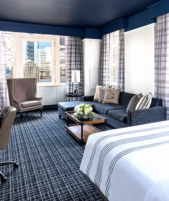Executive King Suite at The Notary Hotel, Autograph Collection, Philadelphia