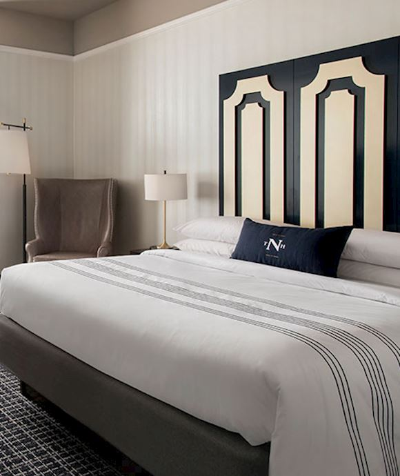 King Guest Room at The Notary Hotel, Autograph Collection, Philadelphia