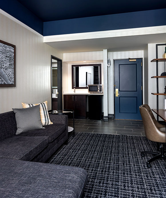 One Bedroom King Suite at The Notary Hotel, Autograph Collection, Philadelphia