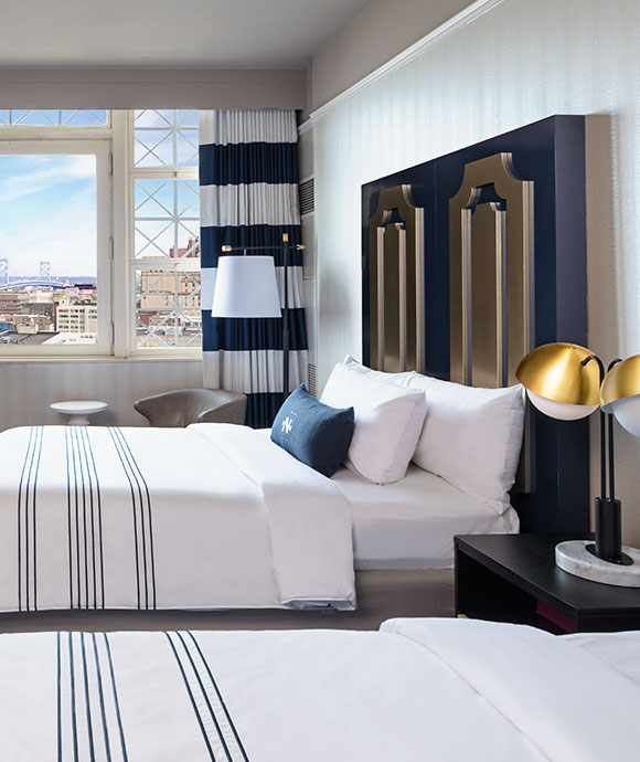 The Notary Hotel, Autograph Collection, Philadelphia City View Queen/Queen Guest Room