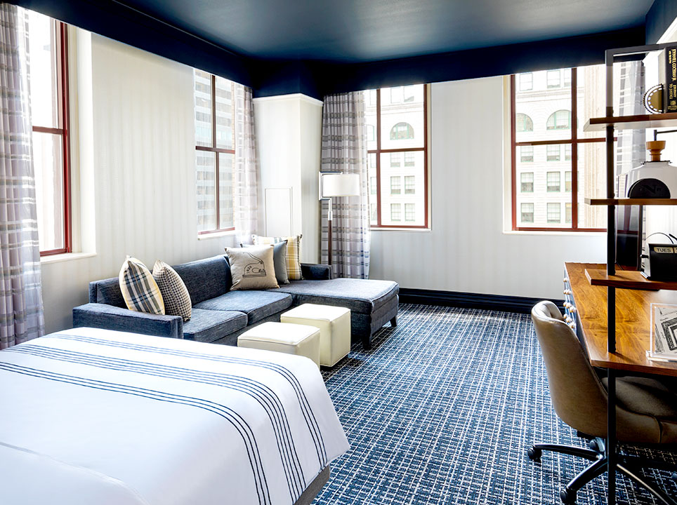 Executive Queen Suite at The Notary Hotel, Autograph Collection, Philadelphia