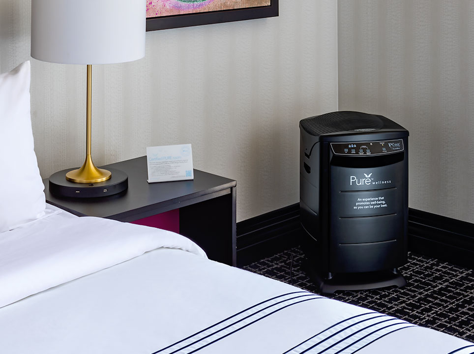 PURE Wellness King Guest Room at The Notary Hotel, Autograph Collection, Philadelphia