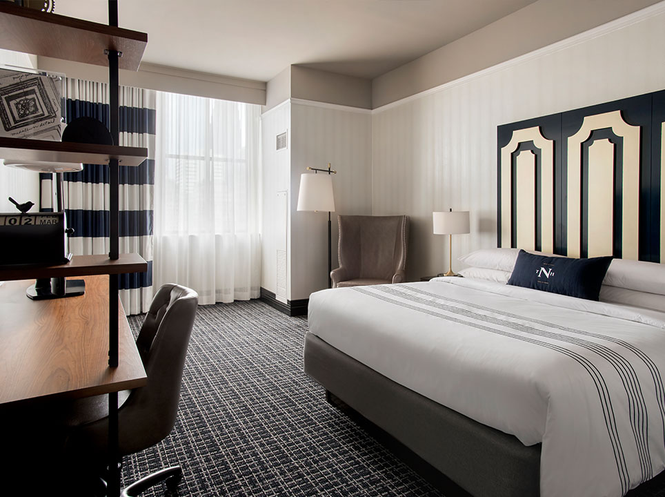 The Notary Hotel, Autograph Collection, Philadelphia King Guest Room